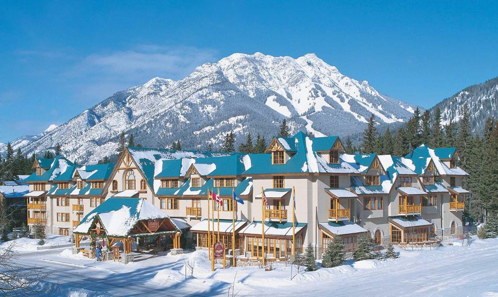 Banff Caribou Lodge Winter