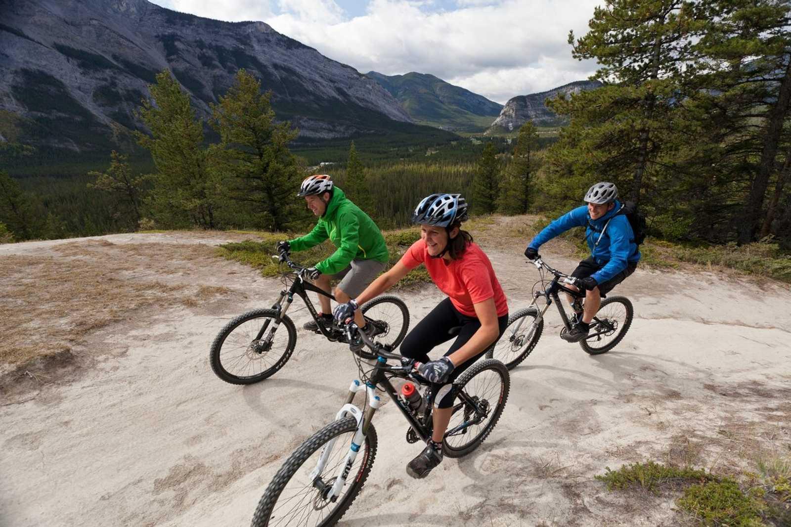 Mountain Biking in Banff - Bikers