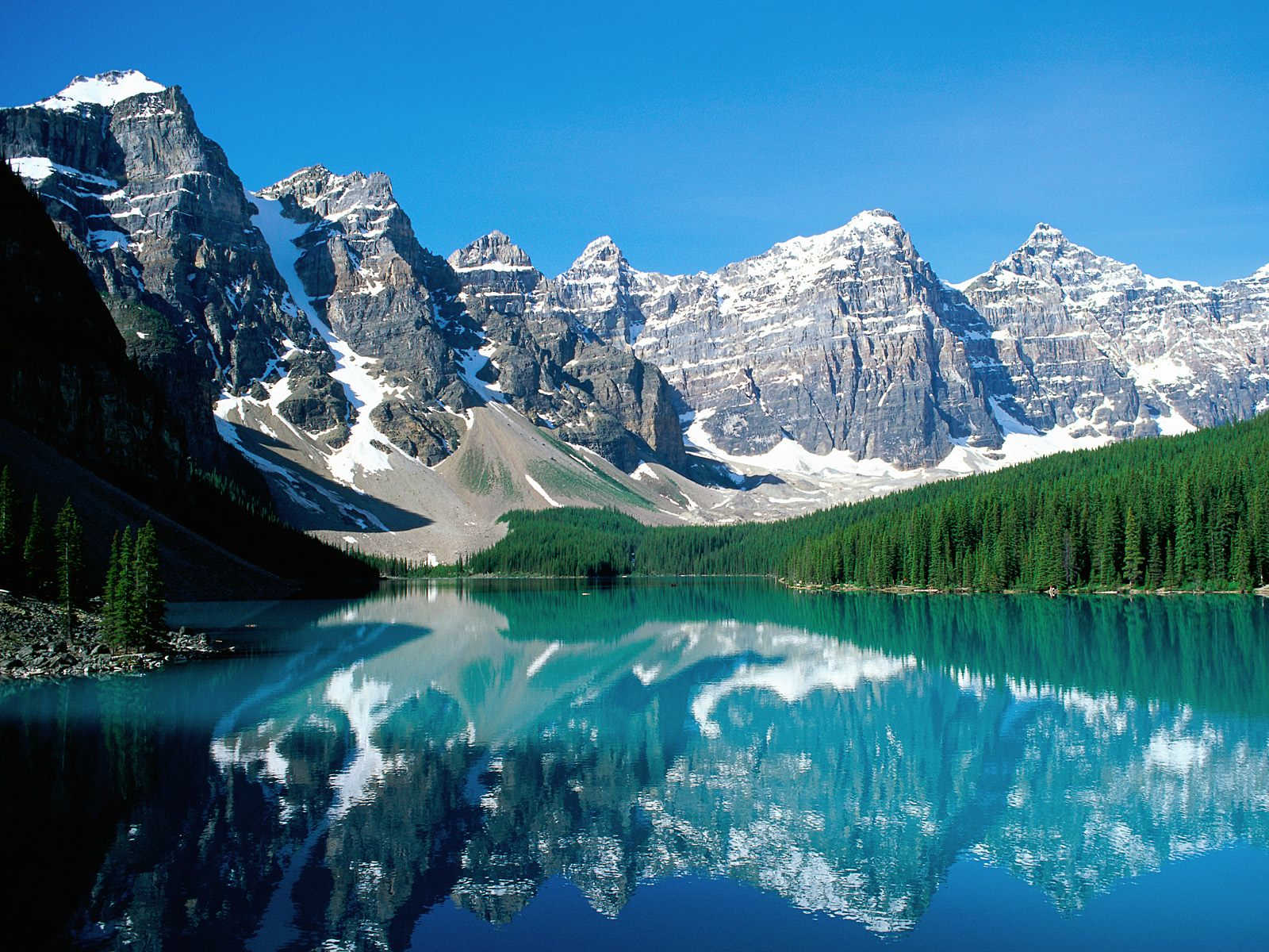 Timeline Cleanser: The Canadian Rockies [Nature]