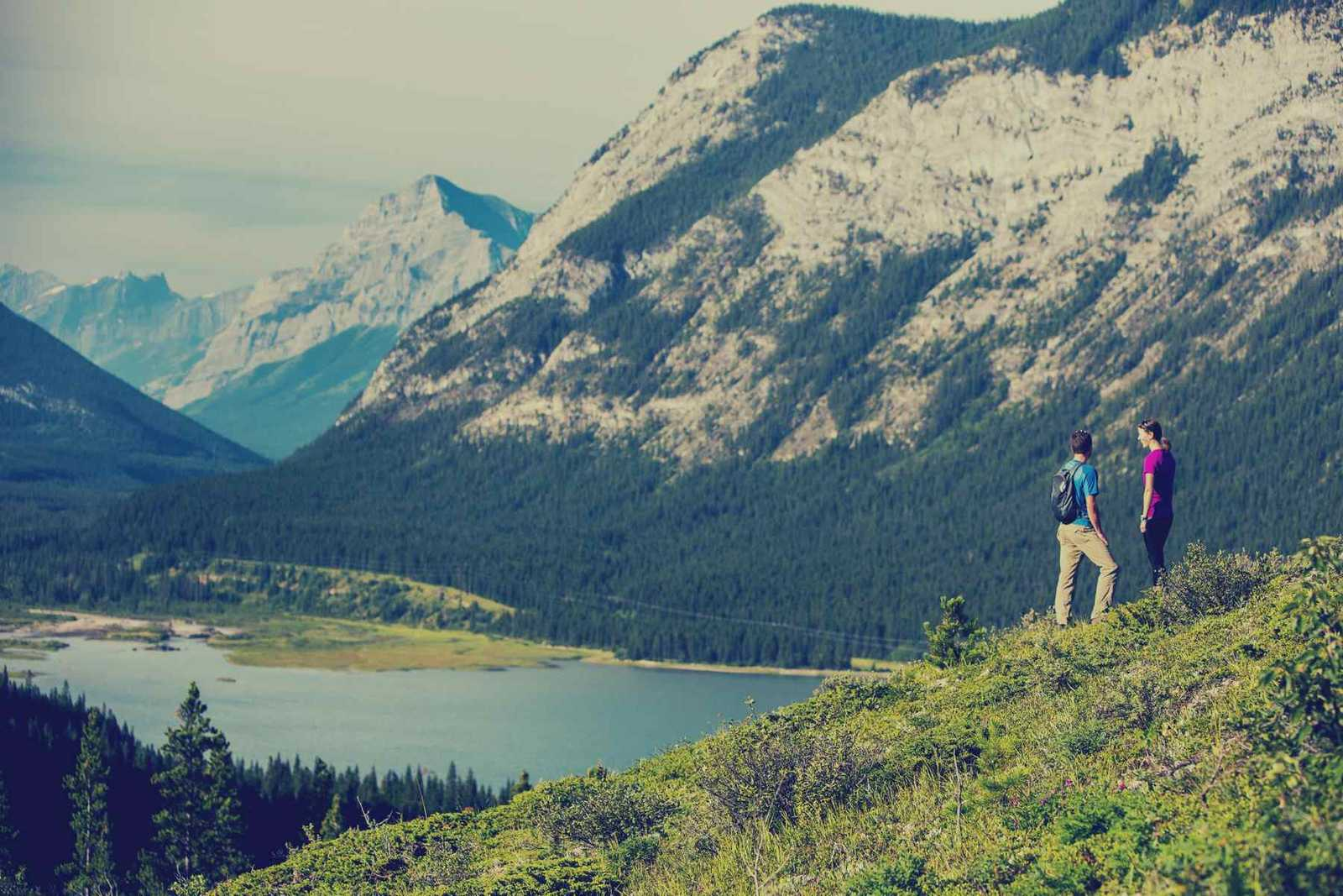 Hiking Trail in Canmore, Alberta