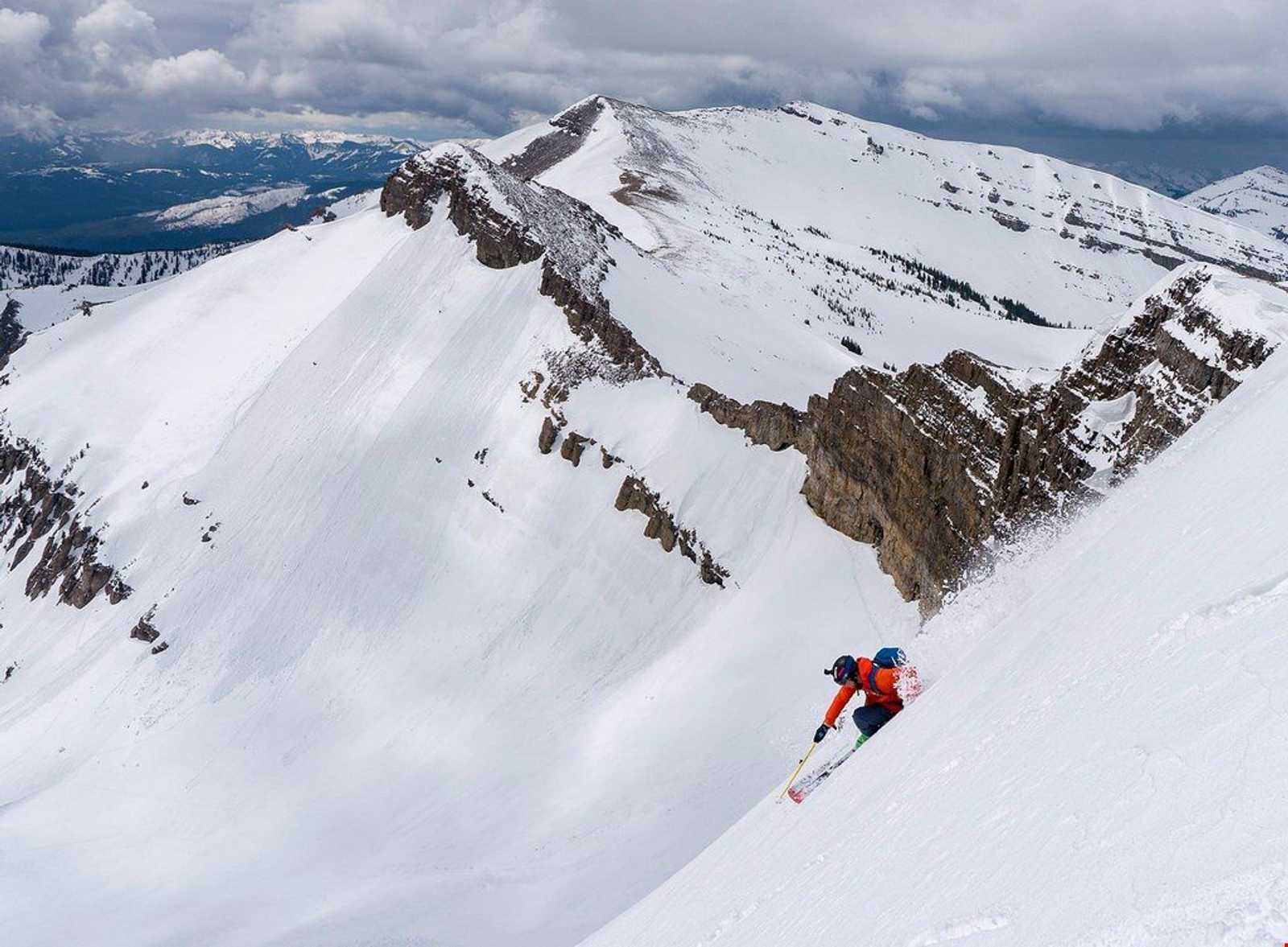 Skiing Jackson Hole
