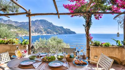 Villa with terrace and sea view in Ravello ID 3196 photo 0