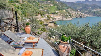 Villa with terrace and sea view in Ravello ID 3876 photo 0