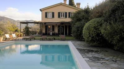 Villa Con Piscina Tra Gli Ulivi Di Rapallo photo 0
