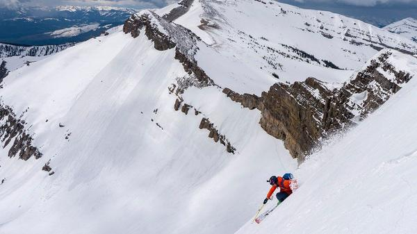 Skiing Jackson Hole