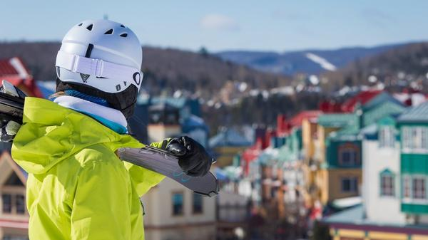 Skiing and Snowboarding Mont Tremblant