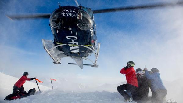Heli ski BC - RK Heliski in Panorama BC
