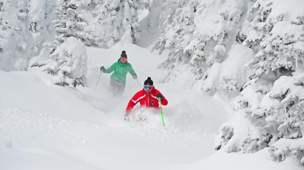 Big White Skiing and Snowboarding - Skiers