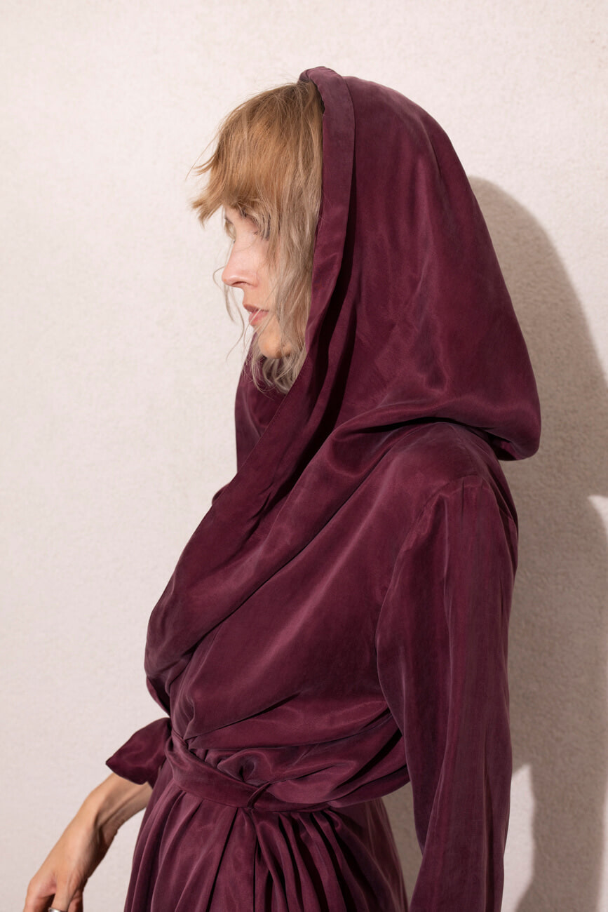 SZLAFROK BED-TO-PARTY RUBY