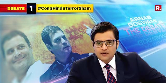 #CongHinduTerrorSham to deflect?