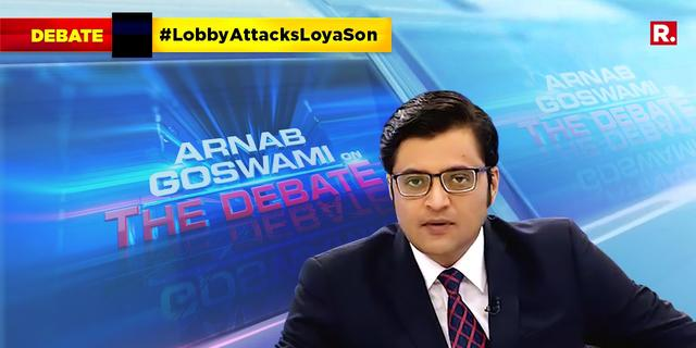 Should Lobby stop the cruel and inhuman attack on justice Loya's 21-year-old son?