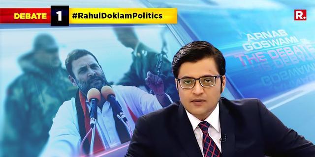 #RahulDoklamPolitics