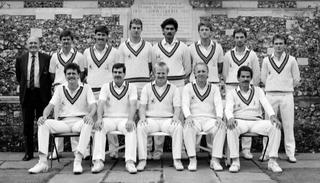 He was also a part of the Glamorgan county team in the 1988 season.
