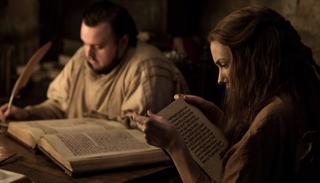 Sam's studying hard all the way down south. And so is Gilly! (HBO)