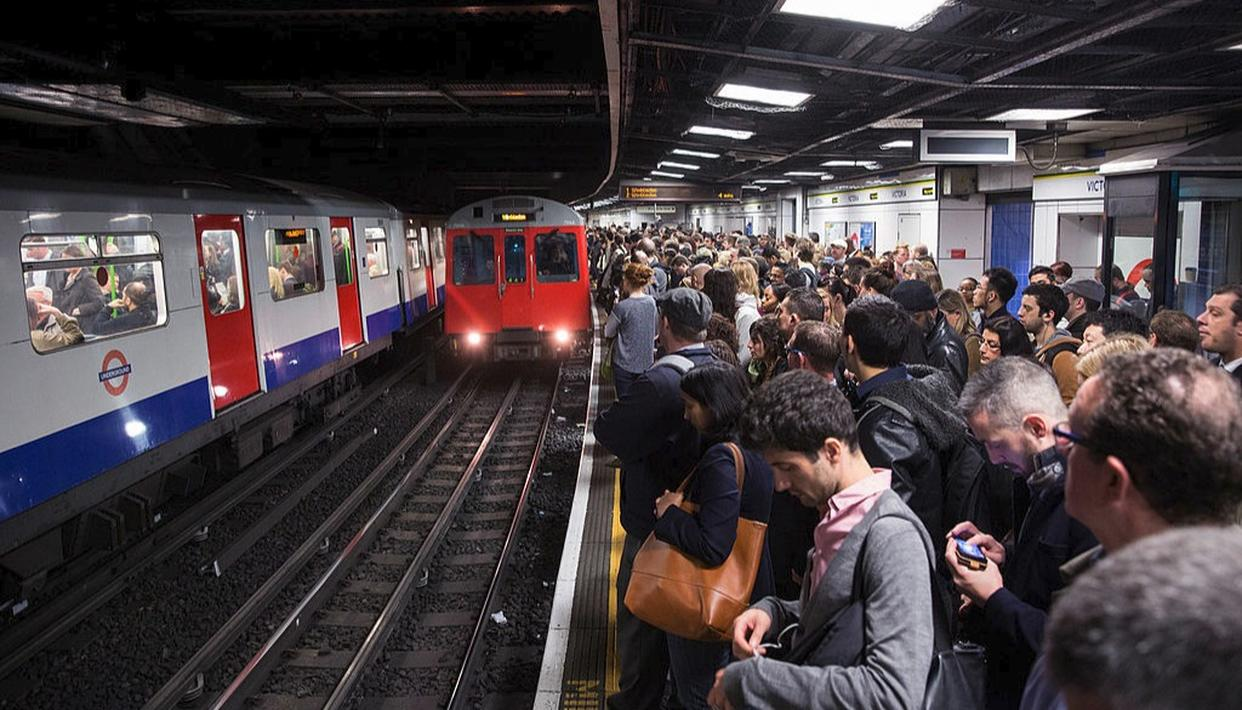 The Tube is  a rapid transit system that in and around London'(Getty)