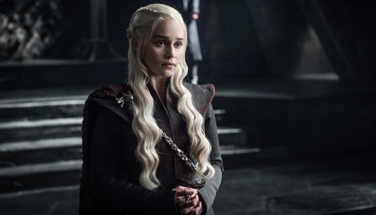Khaleesi, Queen, Mother of Dragons. Quite some CV! (HBO)