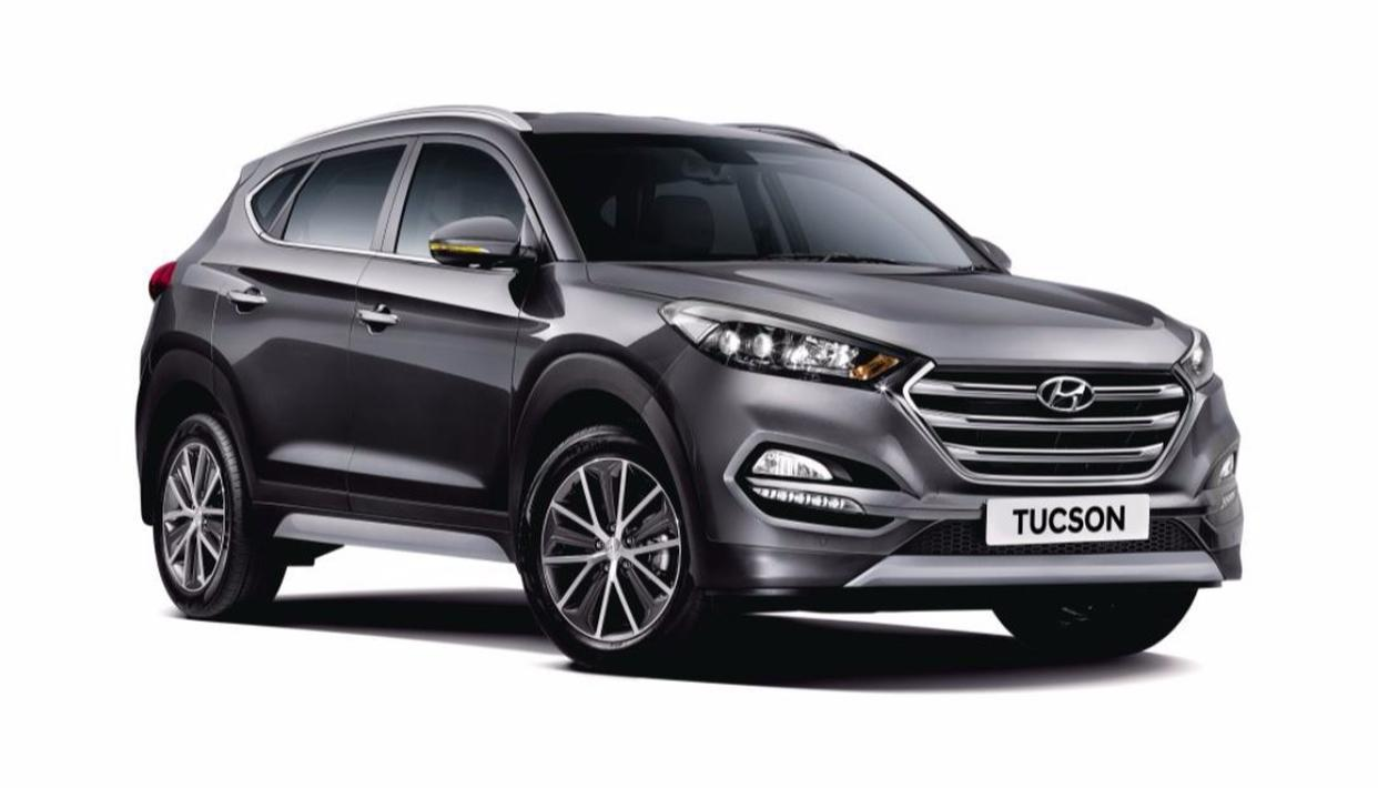 The all new Hyundai Tuscon