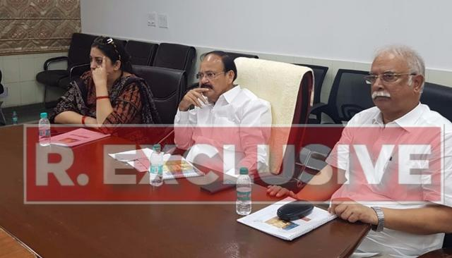 EXCLUSIVE | VENKAIAH NAIDU FOR V-P?