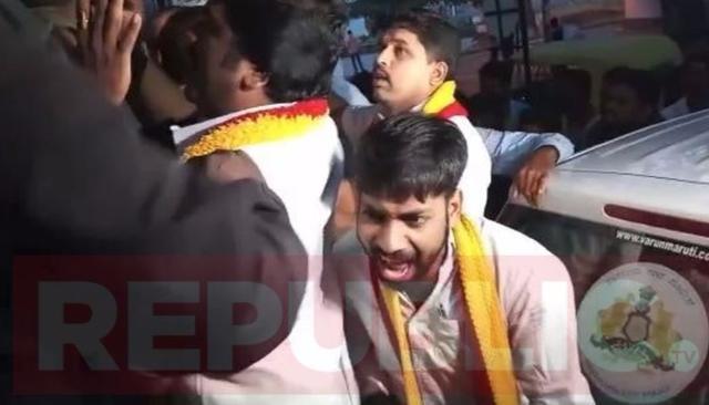 VISUALS: ANTI-HINDI PROTEST IN BENGALURU