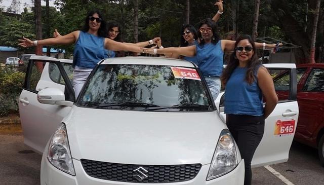 Women drivers own the road in women-only rally in Bengaluru