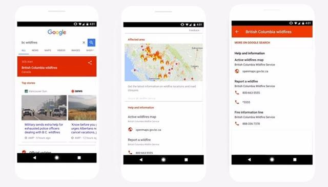 Google Introduces SOS Alerts For Users to Help Them During Disaster