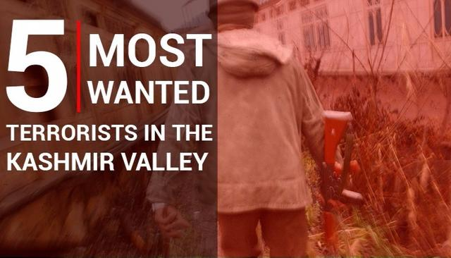 WATCH   5 Most Wanted Terrorists In The Kashmir Valley