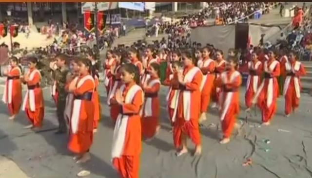 Attari - Wagah Border I-Day Celebrations