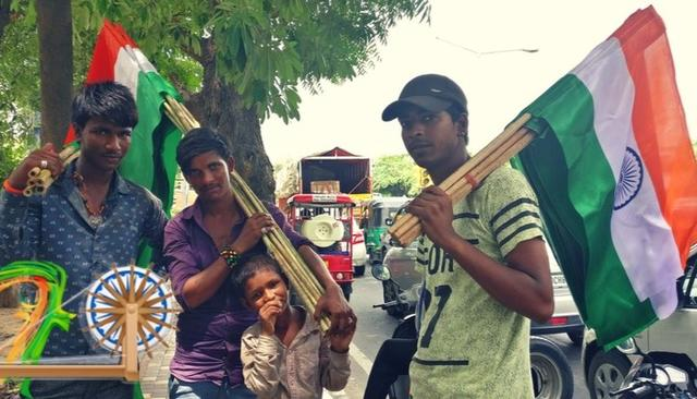 The tricolour on our streets: Independence Day through the eyes of street hawkers