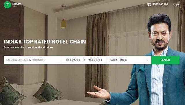 Hotel chain Treebo raises Series C round