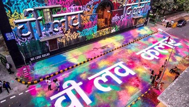 Paint The Town: India's Biggest Street Art Festival Is Coming To Mumbai