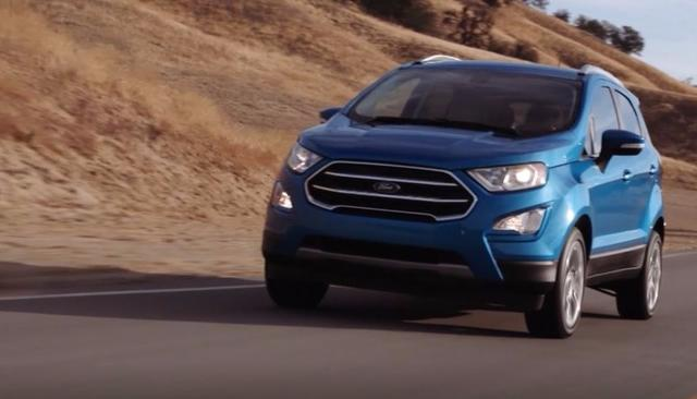2017 Ford EcoSport launch-date confirmed