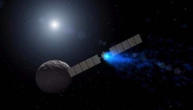 NO DUSK YET FOR NASA'S DAWN MISSION AT CERES