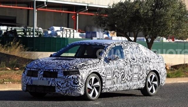 VW SPIED TESTING