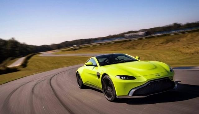 ASTON MARTIN VANTAGE BREAKS COVER