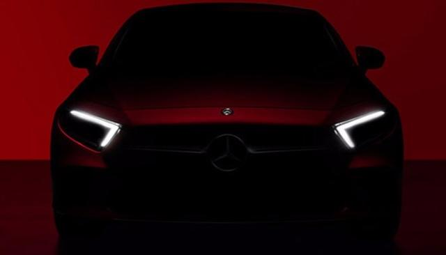 MERCEDES-BENZ TO UNVEIL 3RD-GEN CLS