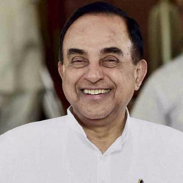 Dr Swamy demands justice for Sunanda