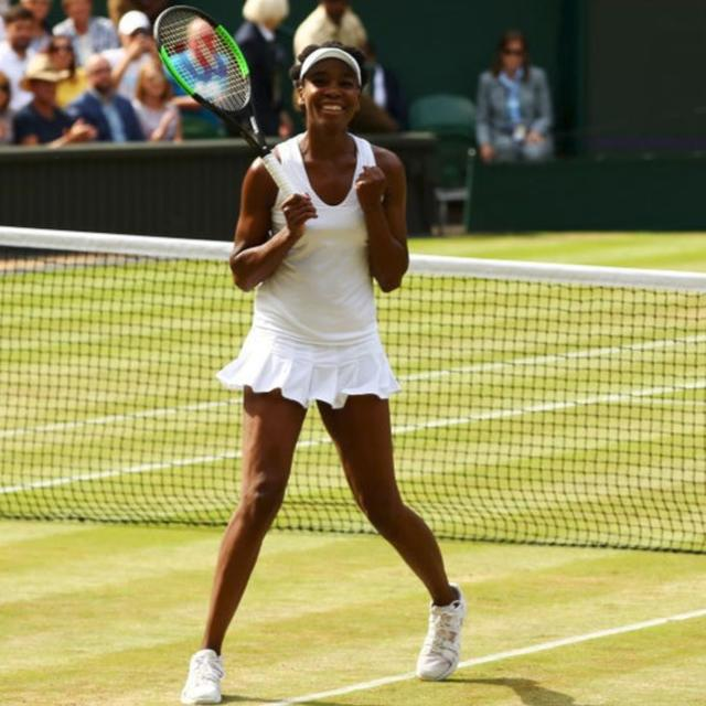 Into her 9th Wimbledon final