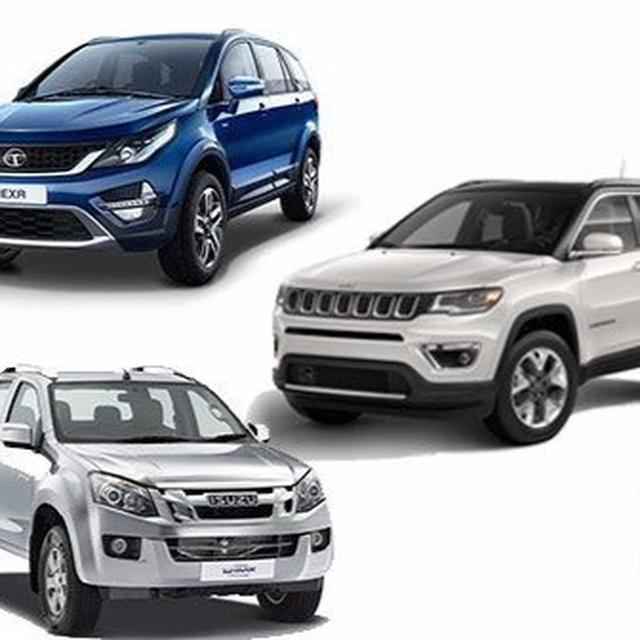 Jeep Compass: Competition check