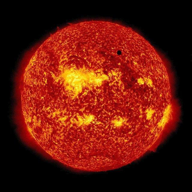 Inside the sun: a spinning top