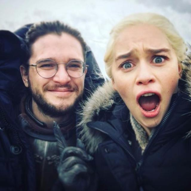 Just a Dragonqueen and a King in the North.. nothing to see here