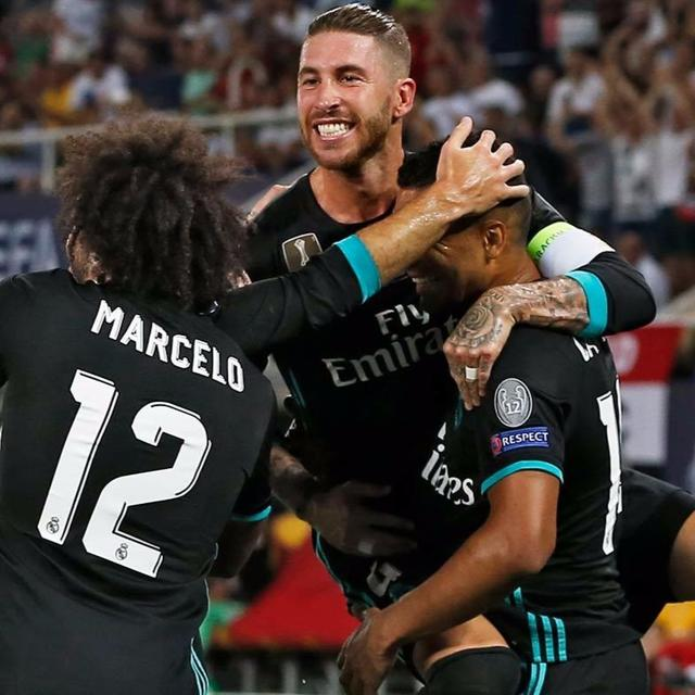 Real Madrid beat Manchester United to retain the UEFA Super Cup