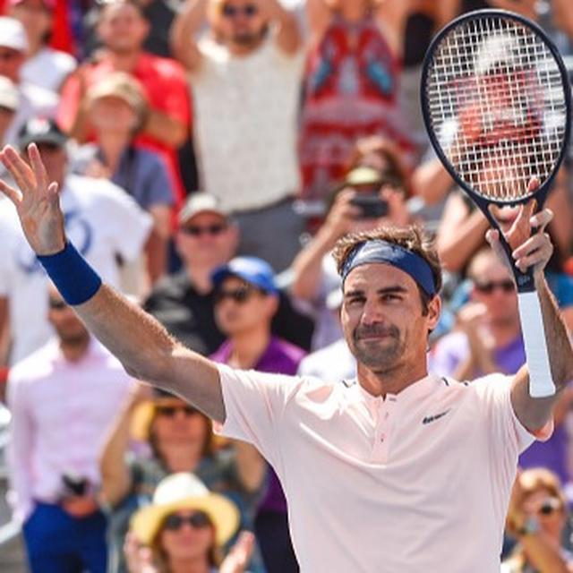Rogers Cup: Nadal crashes, Federer advances