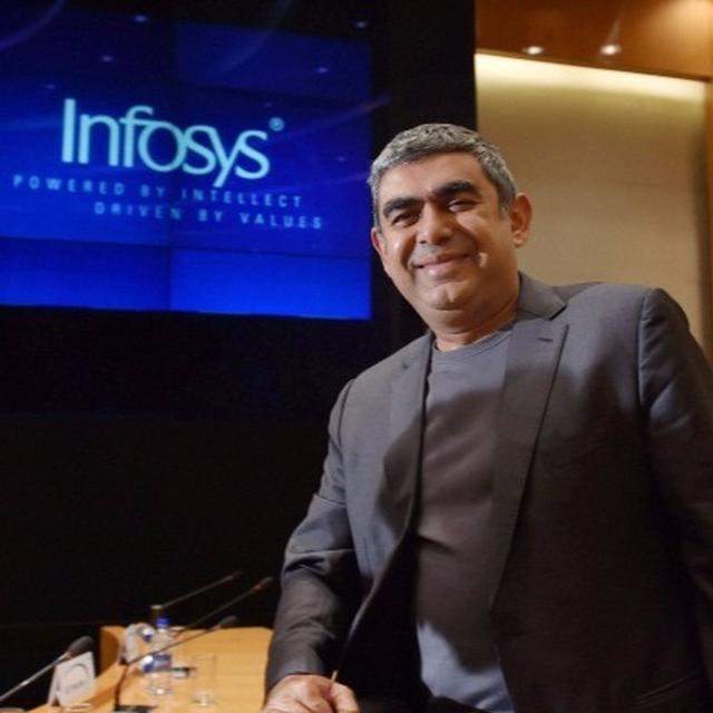 VISHAL SIKKA STEPS DOWN AS INFOSYS CEO AND MD