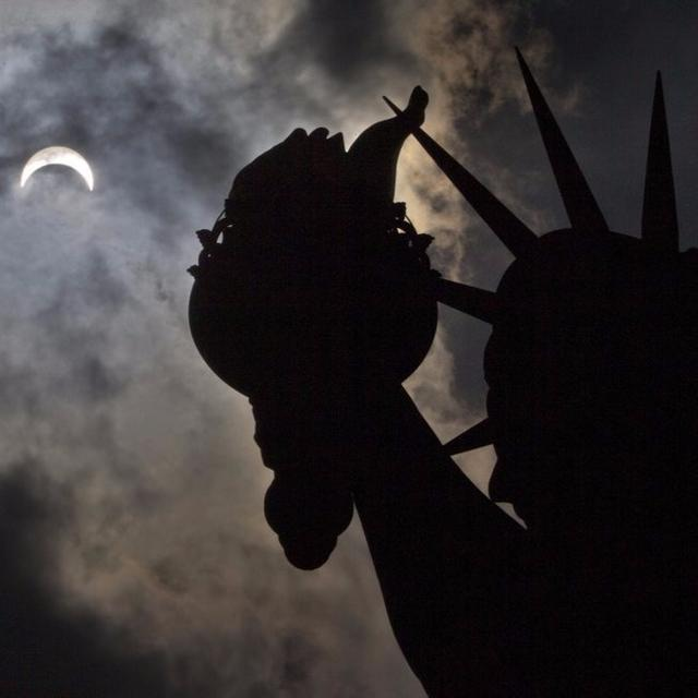 """Solar Eclipse: """"We are part of something bigger."""""""