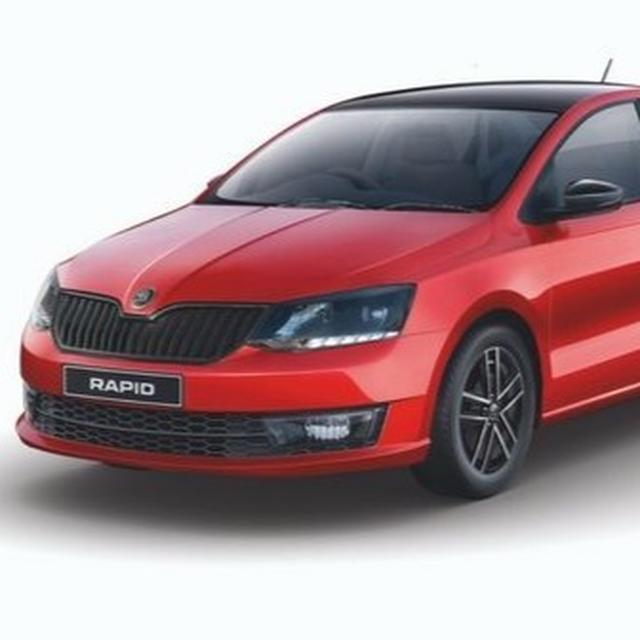 Skoda Rapid Monte Carlo launched at Rs. 10.75 lakh