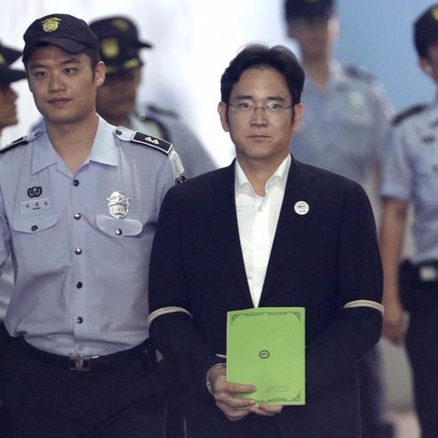 Samsung heir Lee Jae-yong sentenced to 5 years prison