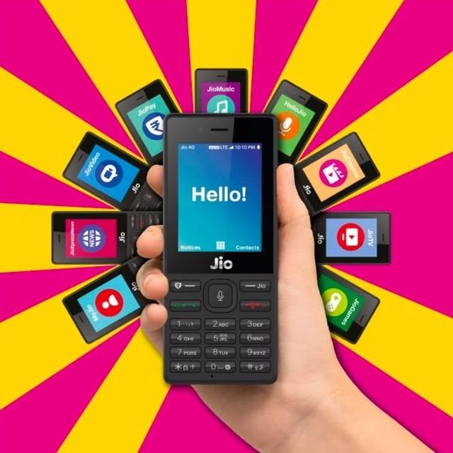 JioPhone pre-booking suspended