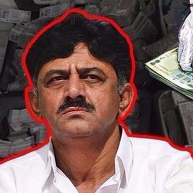 I-T department raids those associated with DK Shivakumar