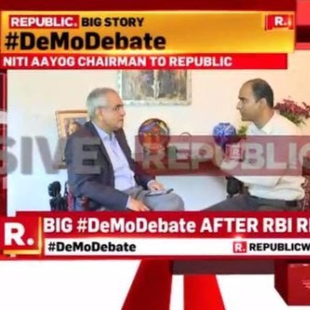 "EXCLUSIVE: Opposition's demonetisation charge ""completely fraudulent"", says Niti Aayog VC designate Rajiv Kumar"