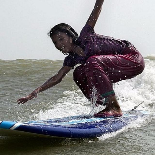 On the world's longest beach, Bangladeshi girls are fighting child marriage in a unique way